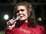 FILE - In this March 17, 2016, file photo, Loretta Lynn performs at the BBC Music Showcase at Stubb's during South By Southwest in Austin, Texas. An update posted on her website Monday, May 15, 2017, said the 85-year-old Country Music Hall of Fame singer and songwriter has been moved from a hospital into rehabilitation. Lynn suffered a stroke more than a week ago. (Photo by Rich Fury/Invision/AP, File)