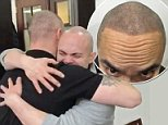 Nathan Rollins from Anchorage, Alaska was overcome with joy after a Jonathan Gerow fixed a previously botched scalp micropigmentation (SMP) treatment in a video published Monday