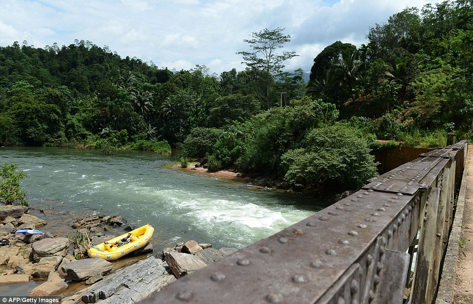 The Sri Lanka White Water Rafting Association, which represents more than a dozen firms, rejected the idea that a rebuilt bridge would offset the damage