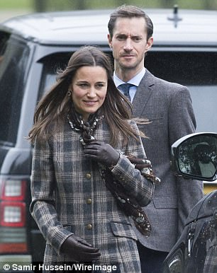 Pippa and James Matthews are going to have a Scottish theme to their wedding, which takes place on Saturday