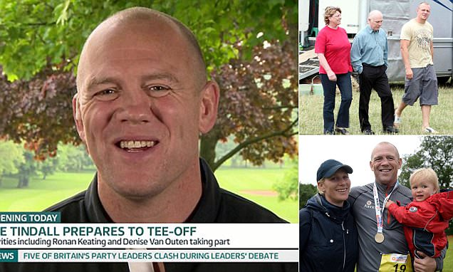 Mike Tindall speaks on father's battle with Parkinson's