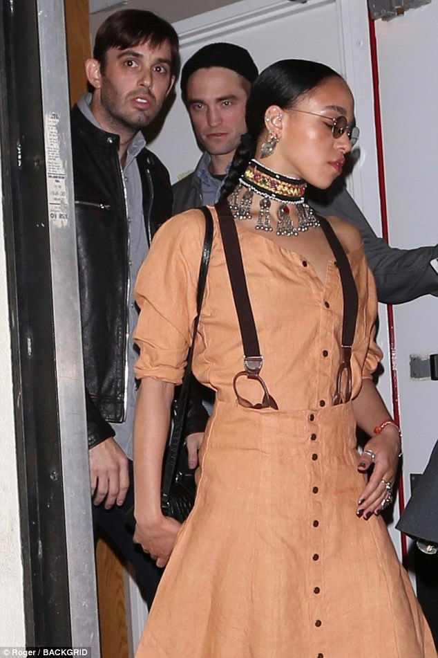 Hot spot:The cute couple were seen dining at celebrity hot spot Craig's in West Hollywood