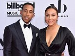 LAS VEGAS, NV - MAY 21: Co-Host Ludacris (L) and Eudoxie Mbouguiengue attend the 2017 Billboard Music Awards at T-Mobile Arena on May 21, 2017 in Las Vegas, Nevada.  (Photo by John Shearer/Getty Images)
