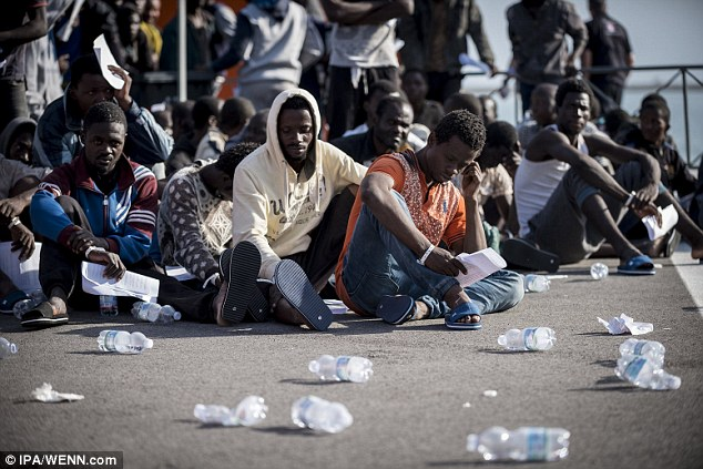 Thousands upon thousands chanced their luck by pretending to be Syrians, while in fact they hailed from the Balkans, from Albania, Pakistan, Afghanistan, Morocco, Egypt, Iran, Iraq or from Africa