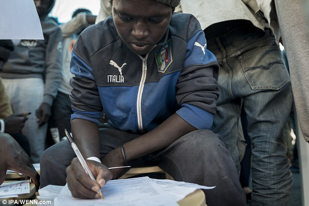 In recent days the EU Navy made several rescues of boats from Africa including people with scabies