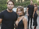 TOWIE Stars Pete Wicks, James Lock and Yazmin Oukhellou are seen arriving for a night out at Sheesh restaurant, Essex UK. Pics taken May 24th. <P> Pictured: James Lock and Yazmin Oukhellou <B>Ref: SPL1506993  250517  </B><BR/> Picture by: W8 Media / Splash News<BR/> </P><P> <B>Splash News and Pictures</B><BR/> Los Angeles: 310-821-2666<BR/> New York: 212-619-2666<BR/> London: 870-934-2666<BR/> photodesk@splashnews.com<BR/> </P>