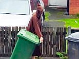 Manchester Arena bomber Salman Abedi filmed in flowing Arab robes putting out the recycling months before deadly suicide attack