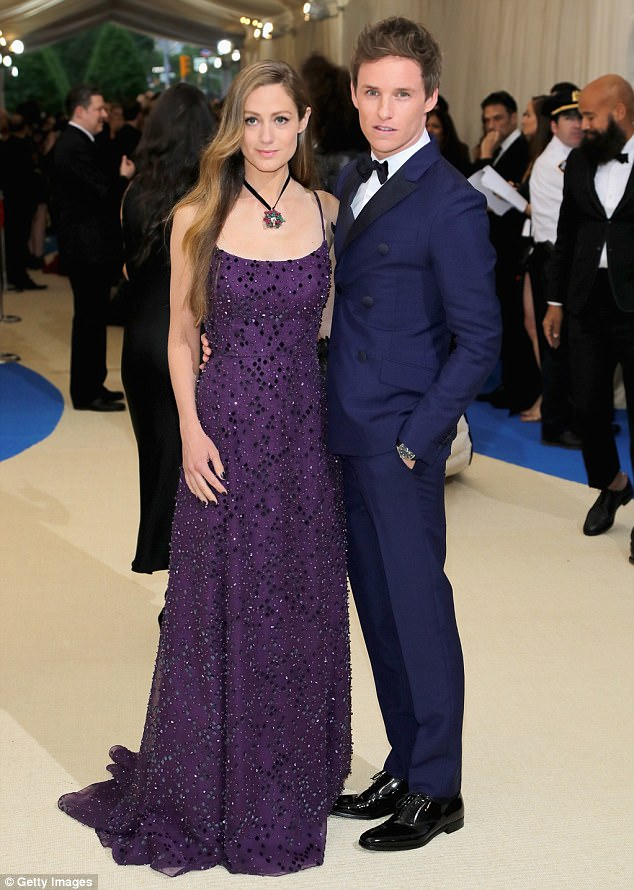 Earlier: The couple wowed as they made their arrival at the star-studded gala earlier that night