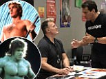 Flash Gordon�s Sam J Jones and the Incredible Hulk Lou Ferrigno during blazing row at London�s Comic Con