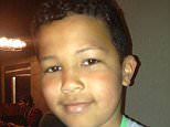 Tyrese Glasgow, 12, (pictured) hanged himself when he worried about getting into trouble for forgetting his schoolbag