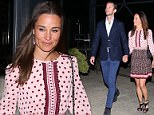 31 MAY 2017 SYDNEY AUSTRALIA..WWW.MATRIXPICTURES.COM.AU..EXCLUSIVE PICTURES..Pippa Middleton pictured with her husband James Matthews dine at Flying Fish. .. ..Note: All editorial images subject to the following: For editorial use only. Additional clearance required for commercial, wireless, internet or promotional use.Images may not be altered or modified. Matrix makes no representations or warranties regarding names, trademarks or logos appearing in the images.