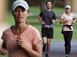 05/31/17 PREMIUM EXCLUSIVE: Pippa Middleton and James Matthews are spotted on part two of their honeymoon in Sydney, Australia. The recently married couple made sure to keep fit while on the trip, the duo were spotted going for a long jog with a personal trainer. Pippa wore a baseball cap, pink athletic shirt, black tights, and black sneakers. Her husband wore a grey Nike shirt, black shorts, and black Nike sneakers. The newlyweds started their trip staying at the 'The Brando' resort on Tetiaroa, a chain of islands in French Polynesia, near Tahiti. \nPlease byline:TheImageDirect.com/ModeMode\n*EXCLUSIVE PLEASE EMAIL sales@theimagedirect.com FOR FEES BEFORE USE