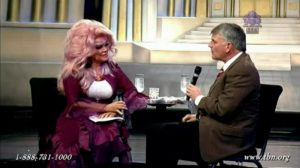 Jan Crouch and Franklin Graham