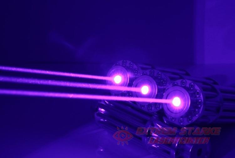 Laserpointer Gattling Style