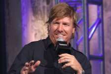 """NEW YORK, NY - OCTOBER 19:  Chip Gaines attends The Build Series to discuss """"The Magnolia Story"""" at AOL HQ on October 19, 2016 in New York City.  (Photo by Laura Cavanaugh/WireImage)"""