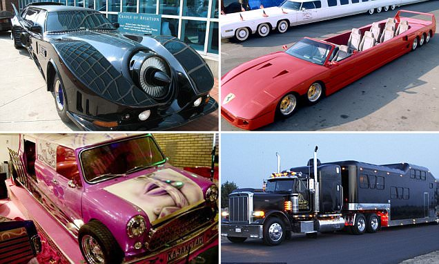 The world's most outrageous limousines revealed