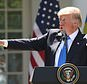 President Donald Trump, accompanied byRomanian President Klaus Werner Iohannis, speaks during a news conference in the Rose Garden at the White House, Friday, June 9, 2017, in Washington. (AP Photo/Andrew Harnik)