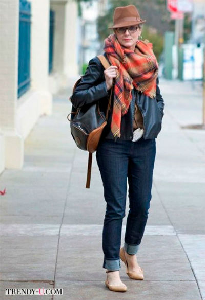6 5 1 - Как правильно носить джинсы женщине в самом соку!