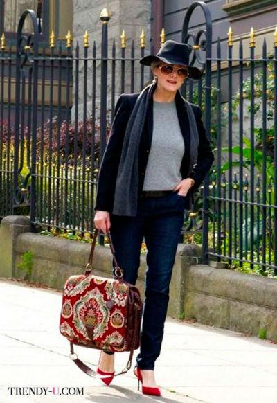 6 9 - Как правильно носить джинсы женщине в самом соку!