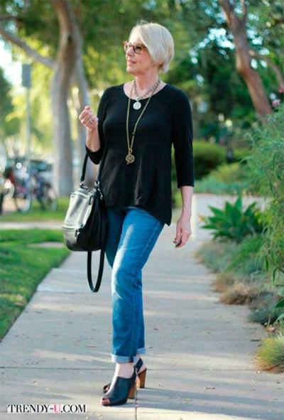 6 8 1 - Как правильно носить джинсы женщине в самом соку!
