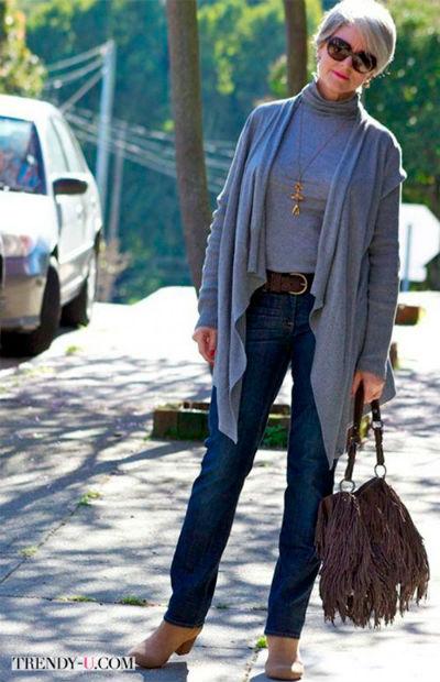 6 6 1 - Как правильно носить джинсы женщине в самом соку!