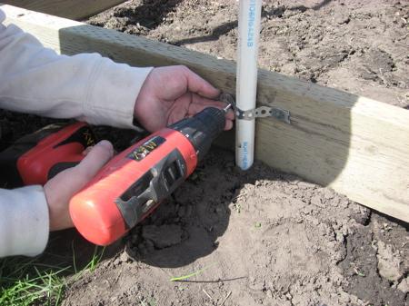 greenhouse4 - Как самостоятельно построить недорогую теплицу из пластиковых труб