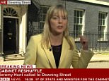 As Jeremy Hunt arrived at Downing Street to learn his fate this afternoon, BBC political journalist Ellie Price accidentally dropped the C bomb, before quickly correcting herself