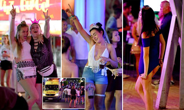 Noise laws banning sounds louder than a laugh hit Magaluf