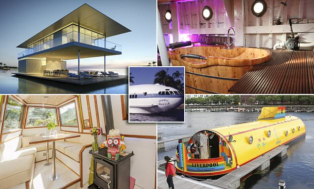 The craziest houseboats from around the world revealed