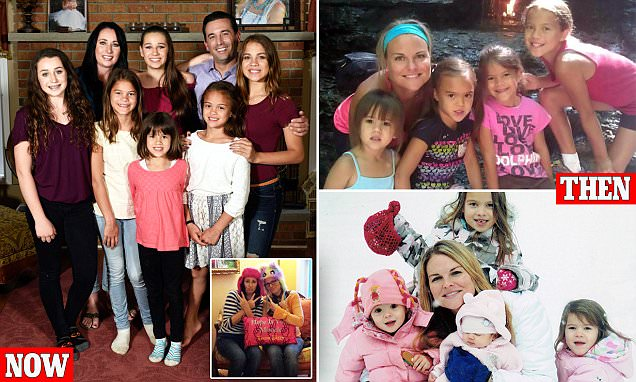 Family doubles after adopting best friend's four daughters