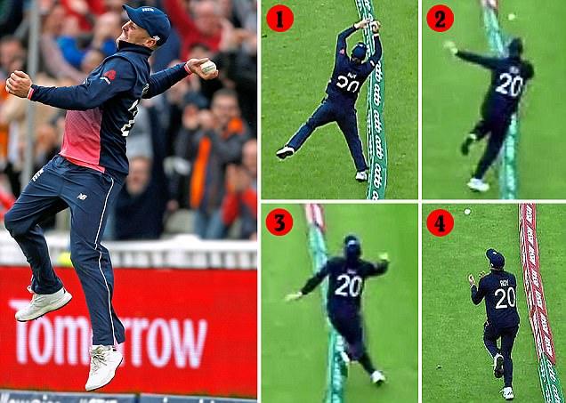 Brilliant Jason Roy makes incredible catch look so easy
