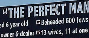 Billboard About Islam Prophet Muhammad ANGERS Muslims [VIDEO]