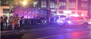 Black Terror Attack in DC: Police Officers Hit by Truck [VIDEO]