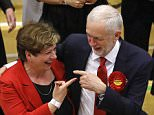 Bold: Emily Thornberry says Labour under Jeremy Corbyn (both pictured today) would win an election today