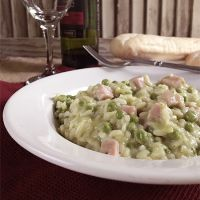 Risotto with Pesto and Peas
