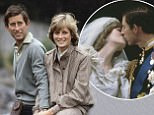 British Royalty, Scotland, 19th August 1981, Prince Charles and Princess Diana pose by the River Dee while on their honeymoon  (Photo by Bob Thomas/Popperfoto/Getty Images)