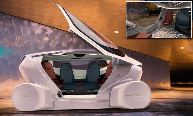 InMotion is the world's first driverless living room
