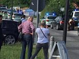 A 26-year-old police woman is fighting for her life after being shot in the head at the Munich station