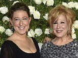 Sophie Von Haselberg, left, and Bette Midler arrive at the 71st annual Tony Awards at Radio City Music Hall on Sunday, June 11, 2017, in New York. (Photo by Evan Agostini/Invision/AP)