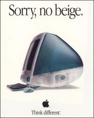 iMac ad - Sorry no Beige