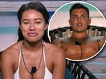 ****Ruckas Videograbs****  (01322) 861777\n*IMPORTANT* Please credit ITV2 for this picture.\n14/06/17\nLove Island 2017 - tonight, 9pm, ITV2\nGrabs from tonight's show\nOffice  (UK)  : 01322 861777\nMobile (UK)  : 07742 164 106\n**IMPORTANT - PLEASE READ** The video grabs supplied by Ruckas Pictures always remain the copyright of the programme makers, we provide a service to purely capture and supply the images to the client, securing the copyright of the images will always remain the responsibility of the publisher at all times.\nStandard terms, conditions & minimum fees apply to our videograbs unless varied by agreement prior to publication.
