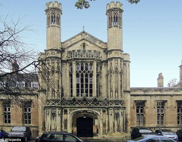 Big spender: Desite huge debts Zaman, from Huntington, York, was paying for his son to go to the prestigious St Peter's School in York (pictured) from his business account