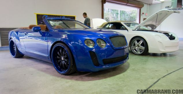 The business owners from Florida, United States, have been sued by Bentley Motors Limited