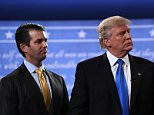 Donald Trump Jr has continued his attack on CNN by re-tweeting a meme of his father blowing up the 'fake news' network
