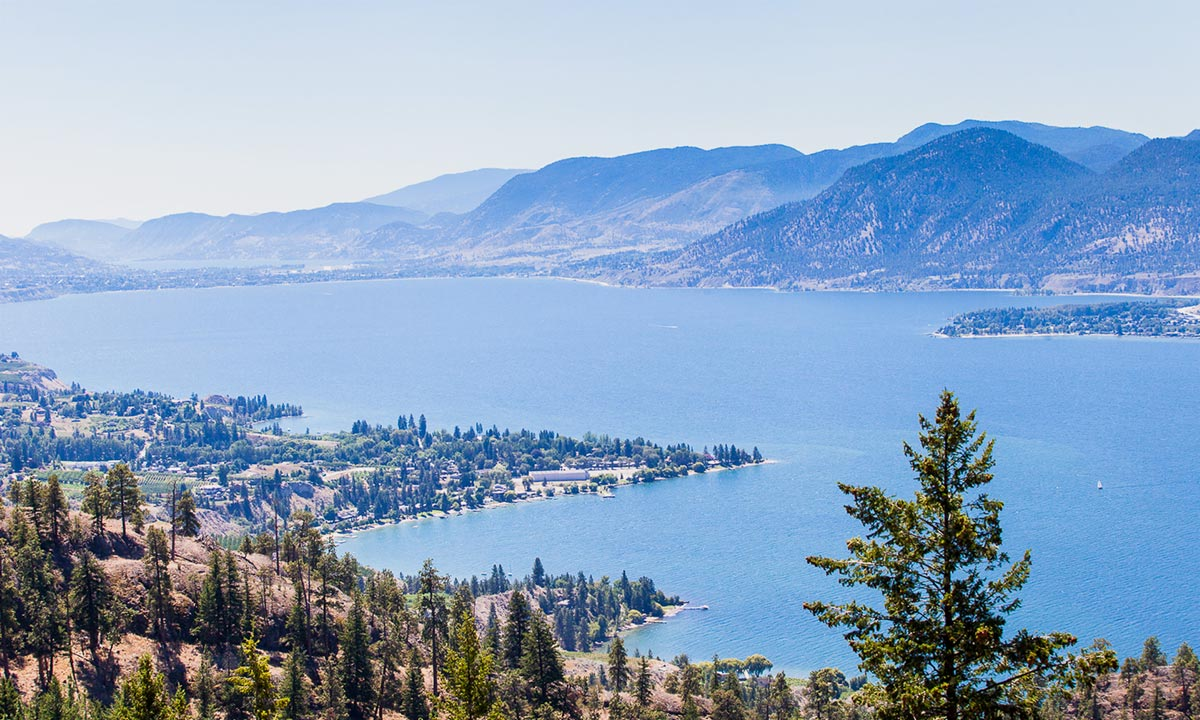 Breathtaking Okanagan Lake