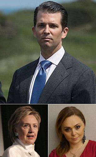 Don Jr. promised dirt on Hillary before meeting lawyer
