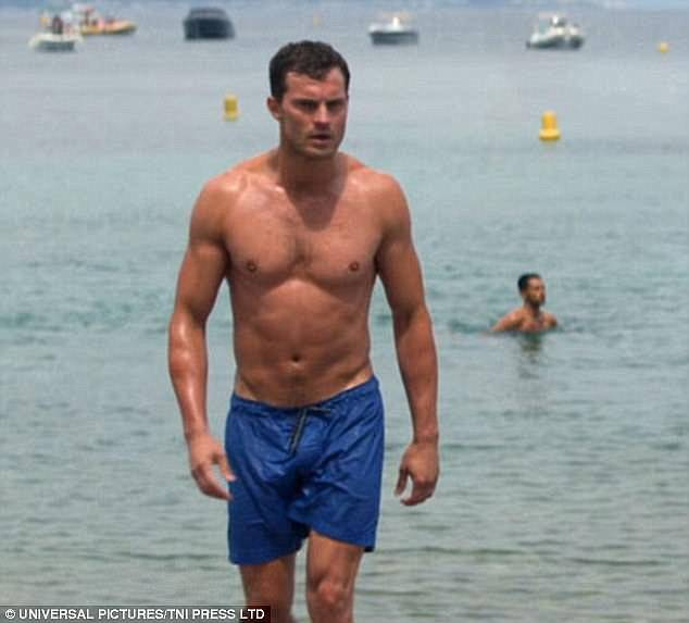 Meanwhile, Jamie was recently seen displaying his sculpted biceps and washboard abs as he emerged from the sea in the final film of the saucy trilogy, Fifty Shades Freed