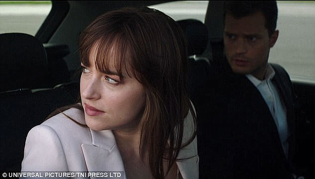 Hotly-anticipated: The final installment of the Fifty Shades triology will not be released until February 2018, but these teasers from the movie are sure to get fans excited