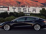 Elon Musk  finally revealed the first photos of the new Tesla Model 3 (pictured) late on Saturday night. The eco-friendly car is affordable at $35,000 and can go 215 miles on a single charge