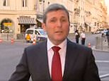 Australian ABC journalist Chris Uhlmann (pictured) set Twitter alight on Sunday with his analysis of US President Donald Trump while reporting on the G20 summit
